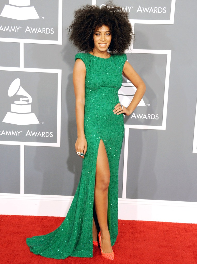 Solange Knowles. Picture is property of US Magazine.