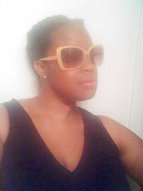 Sunglasses courtesy of Target.