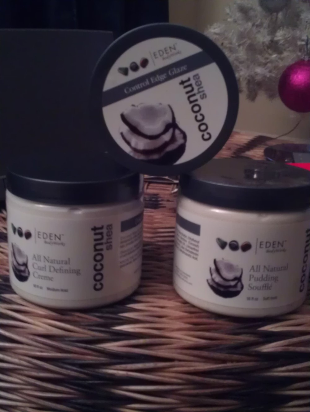 Eden Body Works. Will I love or loathe this product line? We'll soon have find out.