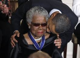 Angelou and Obama