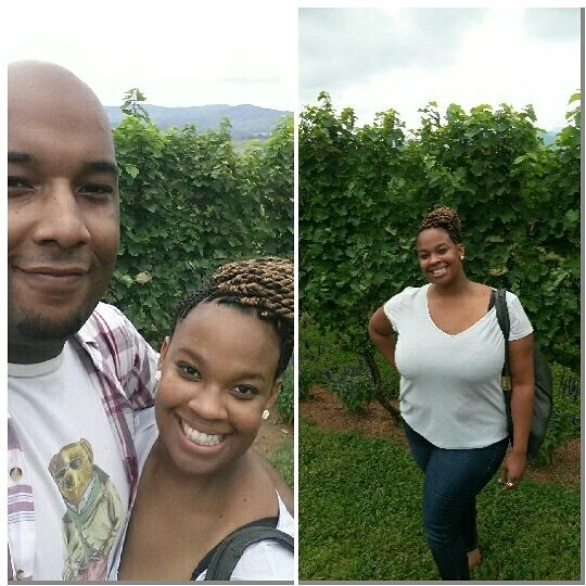 I introduced the boo to wine tasting over the weekend.