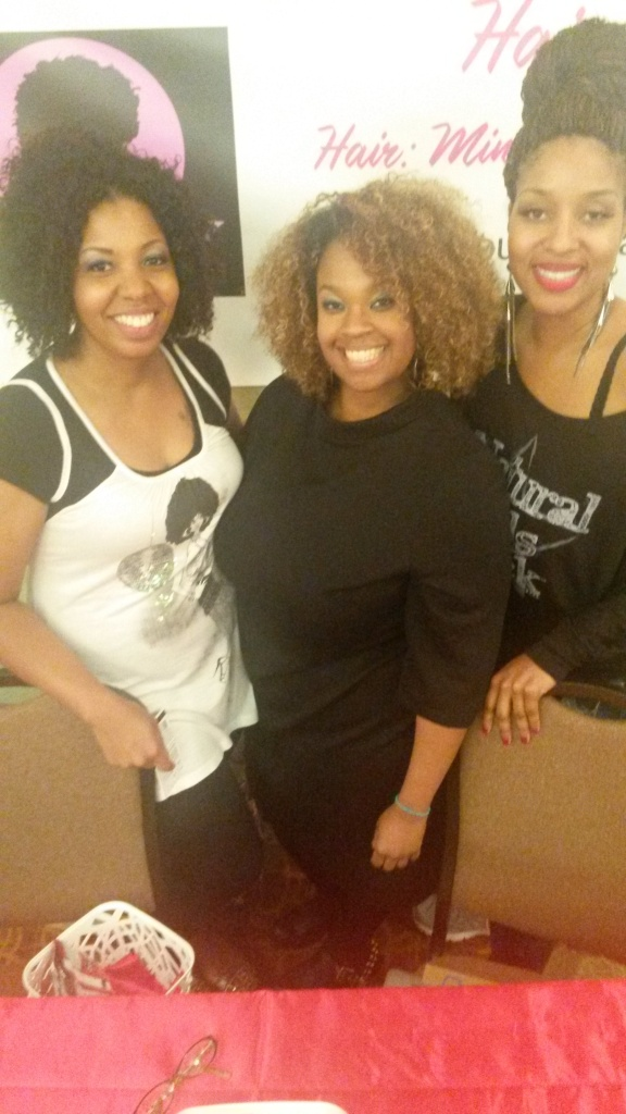 The organizers and I!