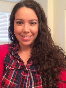 Adriana uses Miss Jessie's Multicultural Curls to help achieve her look.