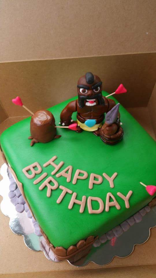 Clash of Clans Cake anyone?