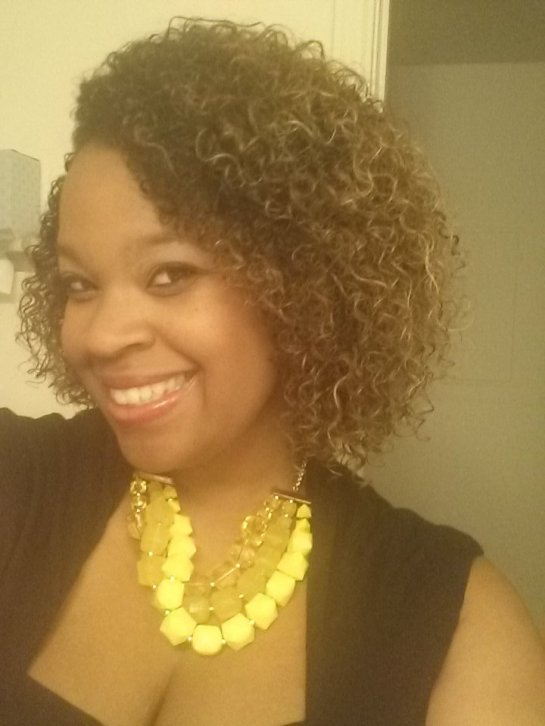 Check out those curls! This was my first time experimenting with Alikay Naturals products and it was great.